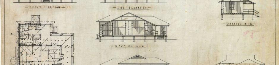 Standard maternity ward plan, 1929