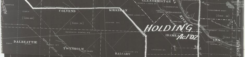 Glenormiston station, c1930