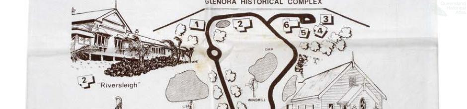 Ross' Run, Glenora Historical Complex