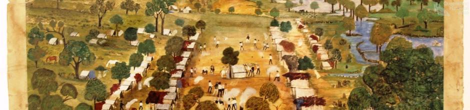 Union camp, Barcaldine, 1891