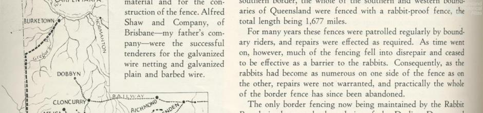 Rabbit proof fences, Walkabout, June 1936