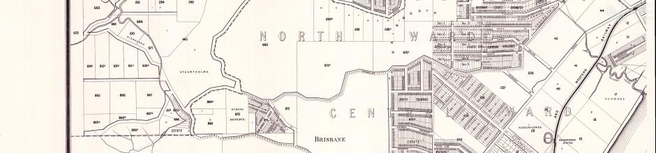Brisbane and Suburbs showing Mount Coot-tha Park, 1895