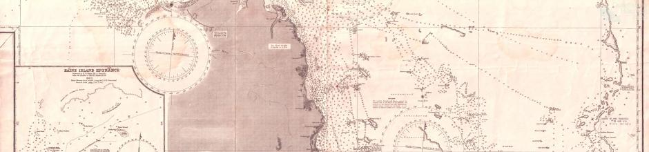 Cape Grenville to Booby Island, 1945