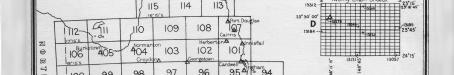 Queensland showing subdivision of sheets, 1927