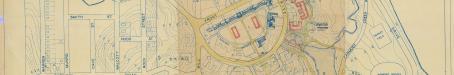 Layout Plan of University of Queensland site, 1950