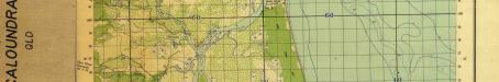 Caloundra military map, 1942