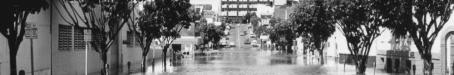 Flooding in Mary Street, Brisbane, 1974