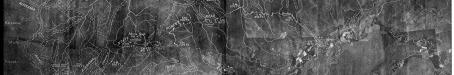 Aerial survey map west of Tully, 1936