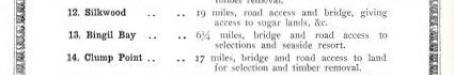 Key to Queensland public estate improvement works, 1937